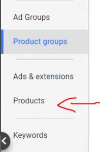 גוגל שופינג מוצרים